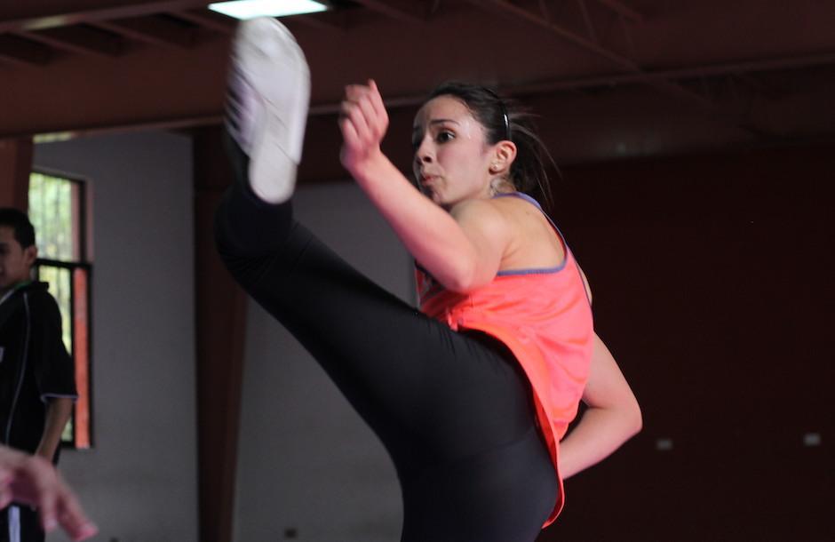 Elizabeth Zamora es una de las grandes referentes del taekwondo de Guatemala. (Foto: Luis Barrios/Soy502)