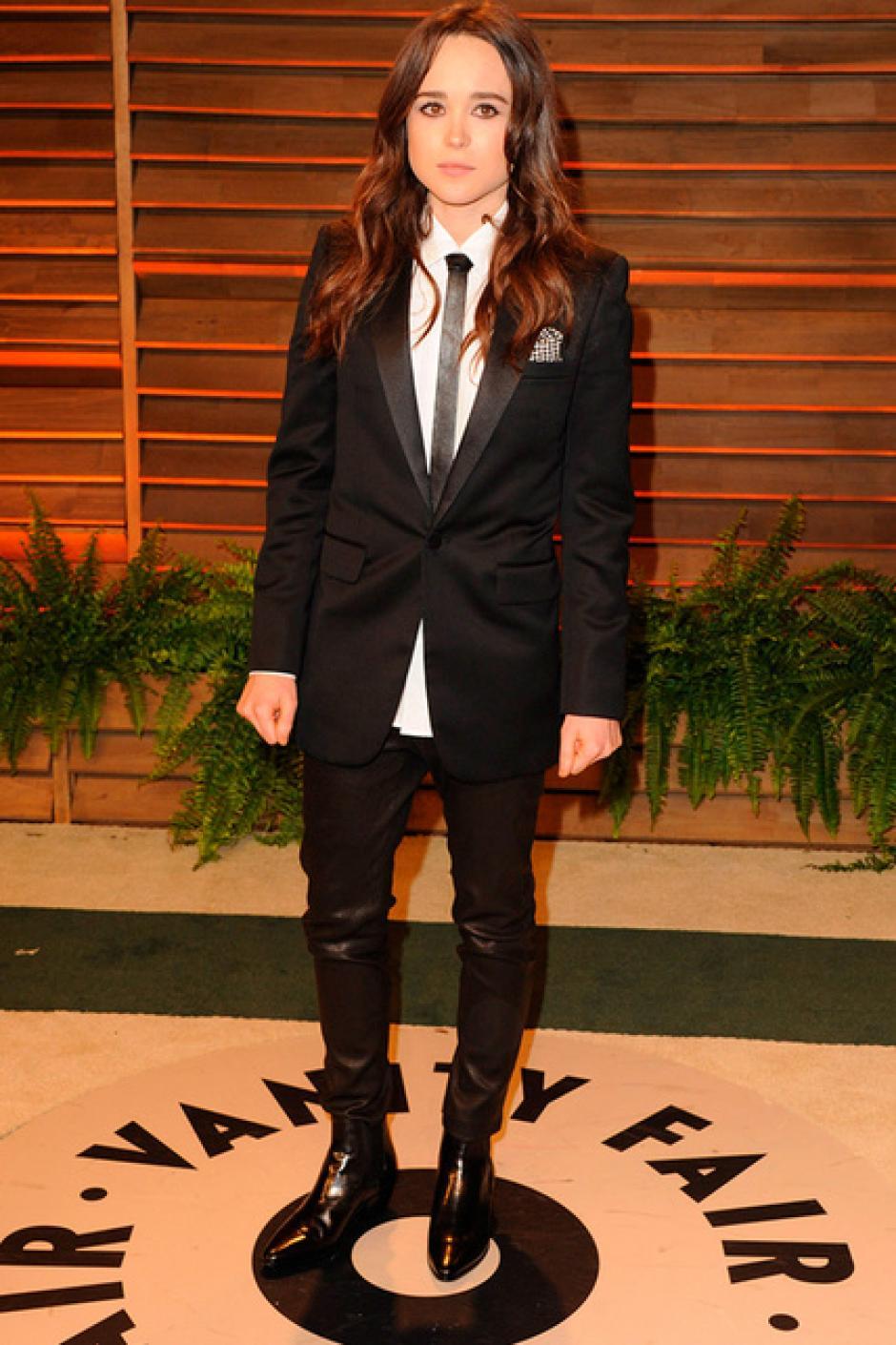 Ellen Page eligió la comodidad. (Foto: SModa)