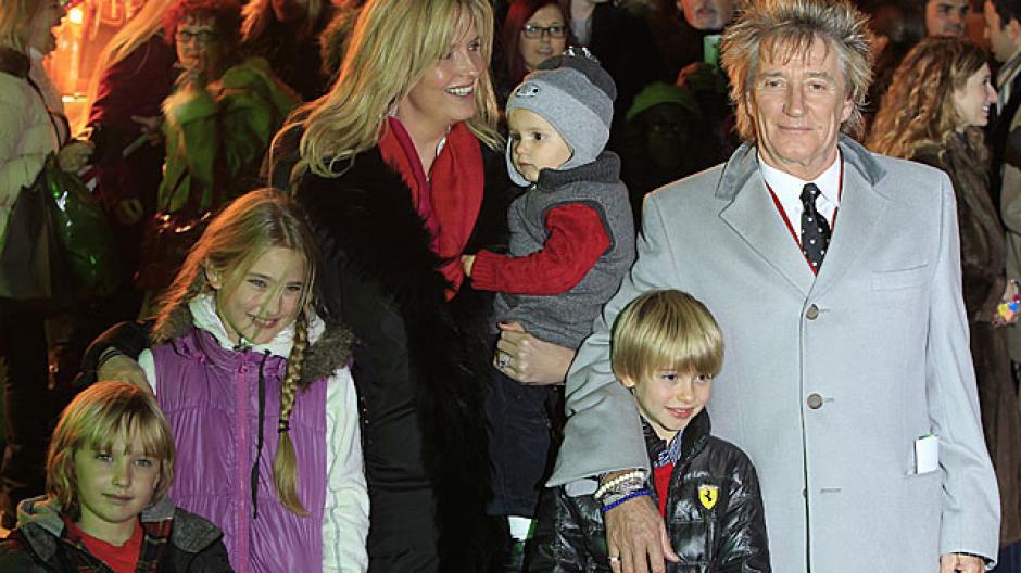Rod Stewart también ha tenido hijos a avanzada edad. (Foto. elmundo.es)
