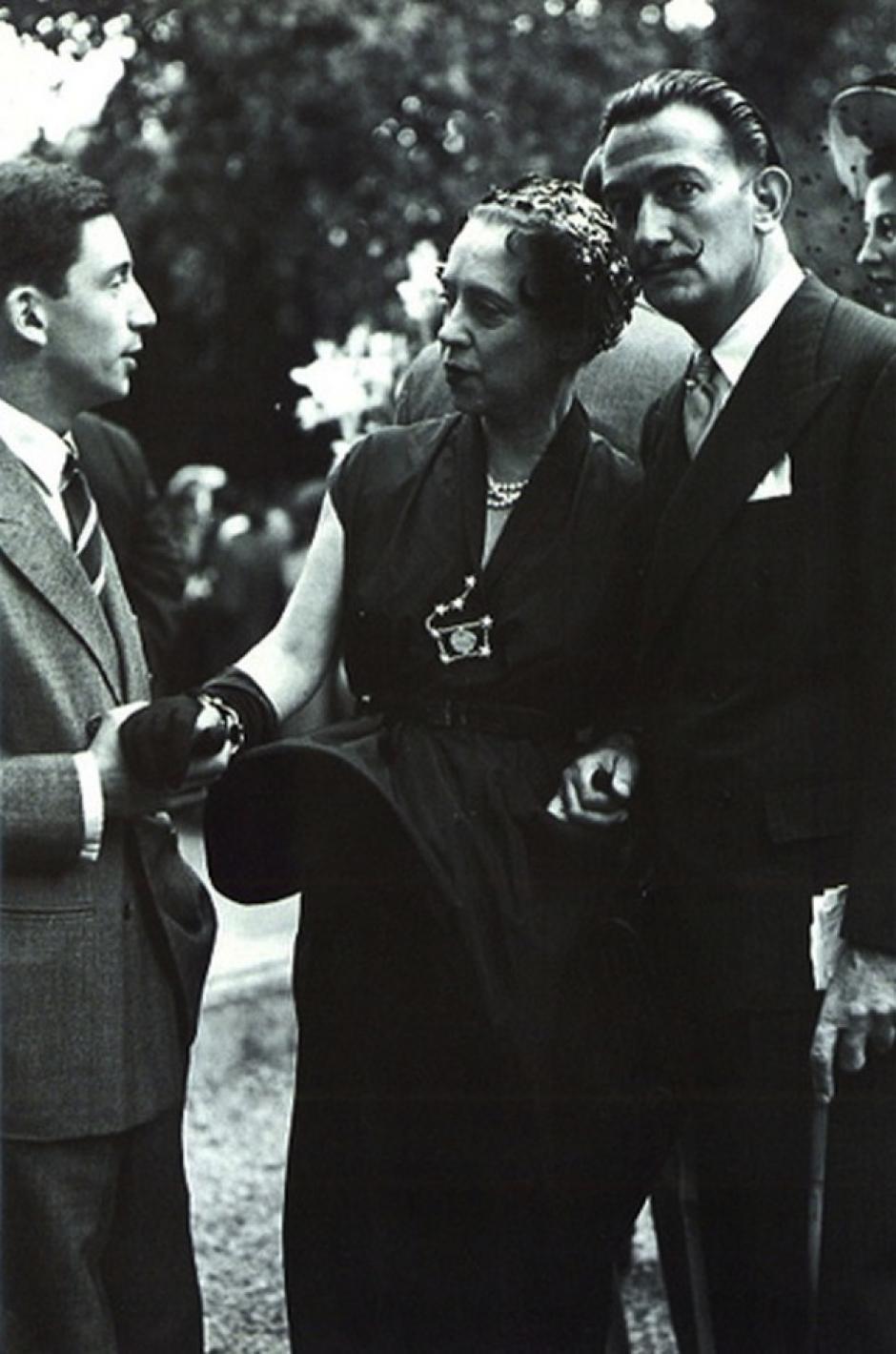 Elsa Schiaparelli mantenía una estrecha relación con el artista surrealista Salvador Dalí. (Foto: thecoincidentdandy)