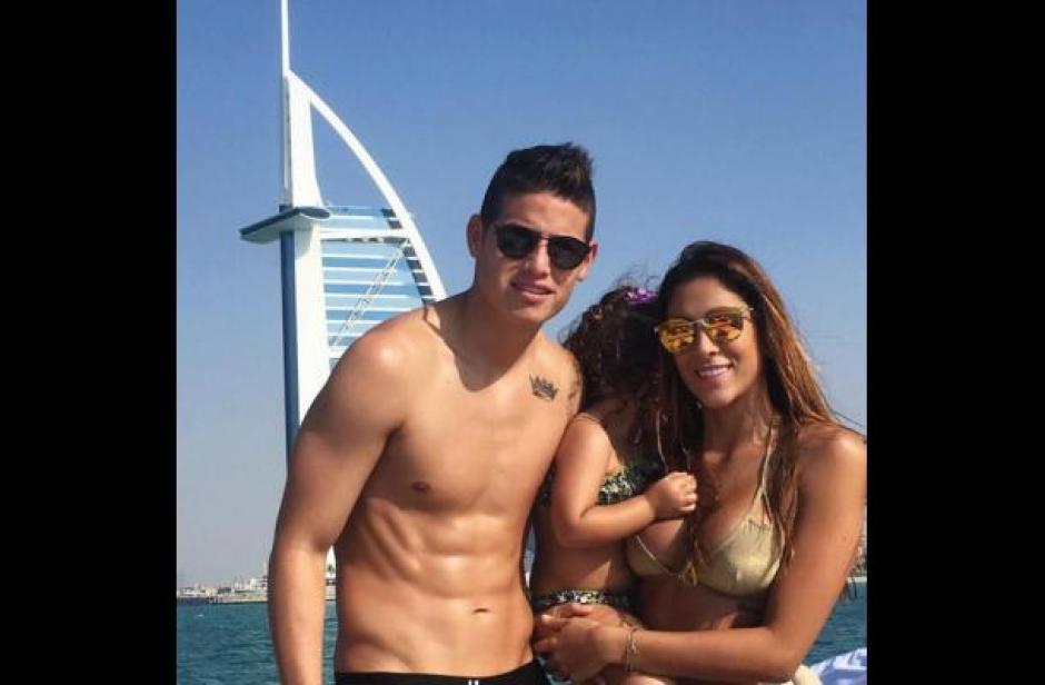 Daniela Ospina tiene una hija con James Rodríguez. (Foto: eluniversal.co)
