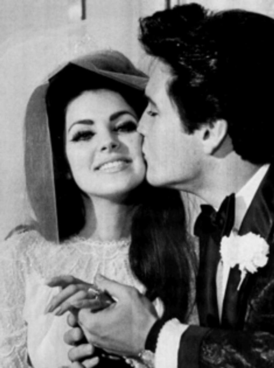 Elvis se casó conPriscilla Ann Beaulieu en 1967.