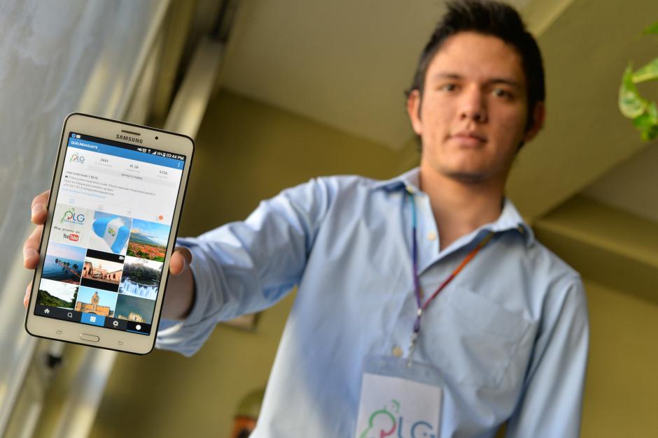 """Jorge Aldana es una de las mentes detrás de """"Qué Linda Guate"""". Él es uno de los Embajadores Digitales de Turismo. (Foto: Wilder López/Soy502)"""