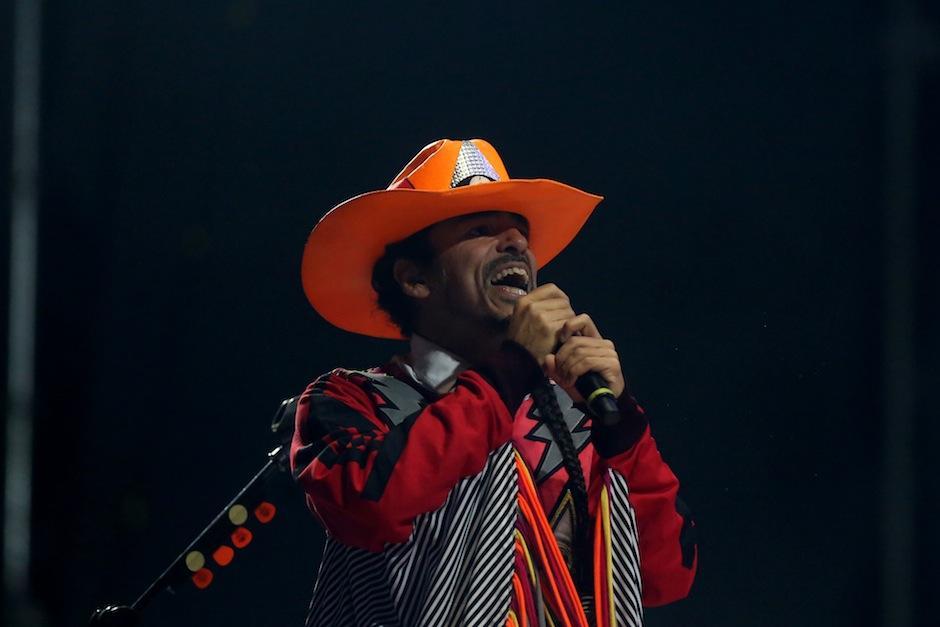 """Clásicas como """"Ingrata"""" fueron interpretadas por la banda. (Foto: Esteban Biba/EFE)"""
