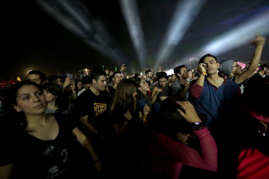 El público espera un sábado igual de movido. (Foto: Esteban Biba/Soy502)