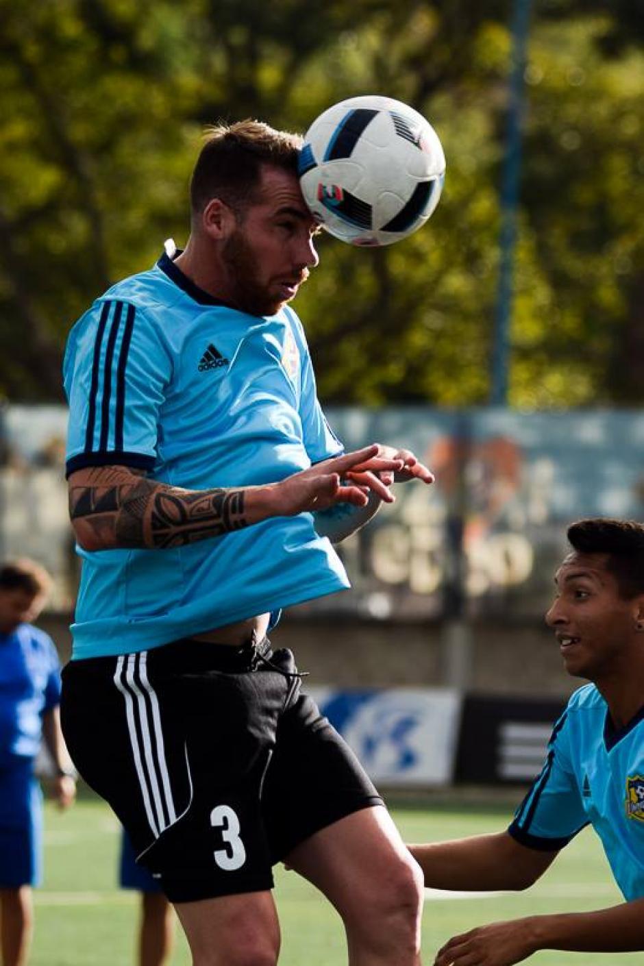 El delantero participará en la Copa Sudamericana. (Foto: Atlético Venezuela CF/Facebook)