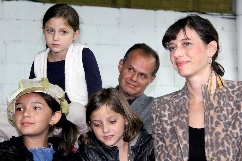 Emilio Méndez disfrutó con su familia este importante acontecimiento. (Foto: Luis Barrios/Soy502)