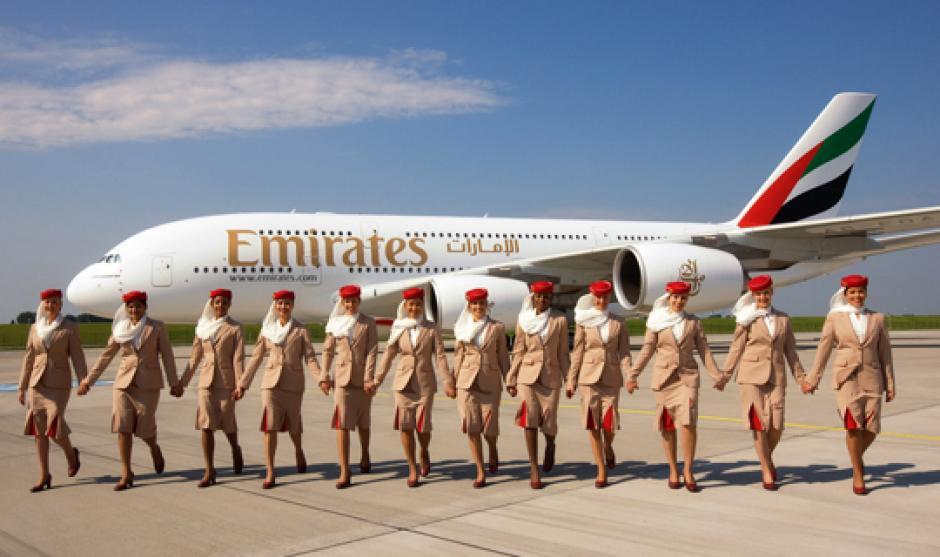 Emirates Fly foto