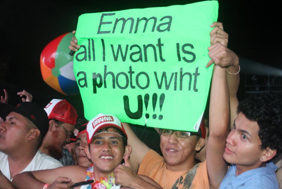 El público no perdió la oportunidad para expresarse.(Foto: Luis Barrios/Soy502)