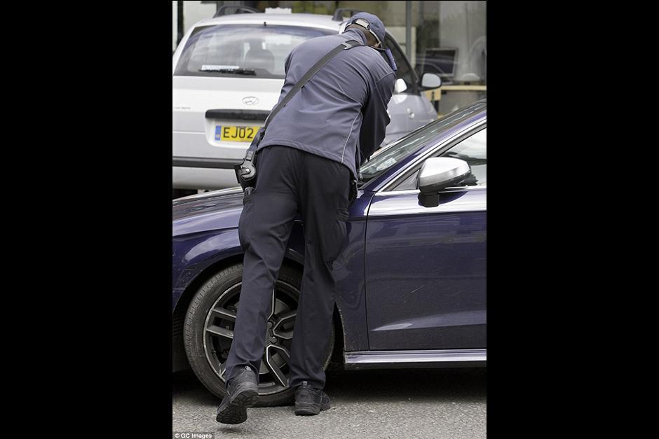 La actriz recibió una multa en la ventana de su carro. (Foto: GC Images)