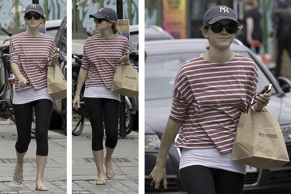 Emma Watson recibió una multa en Londres. (Foto: GC Images)