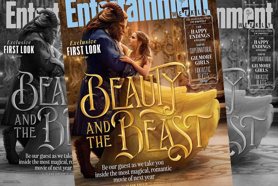 Emma Watson tiene su primer baile como La Bella. (Foto: Entertainment Weekly)