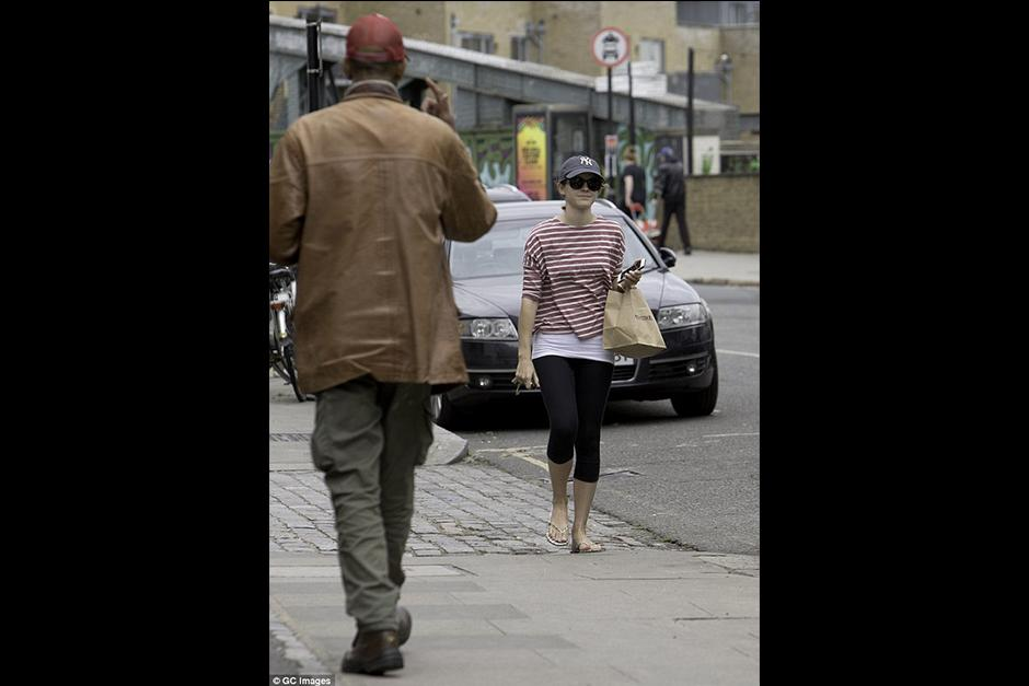 Un transeúnte decidió molestar a la actriz. (Foto: GC Images)