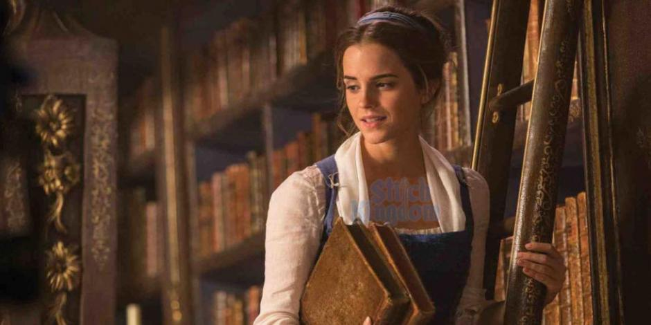 """Emma Watson personifica a """"Bella"""" en el clásico de Disney. (Foto: Stitch Kingdom)"""