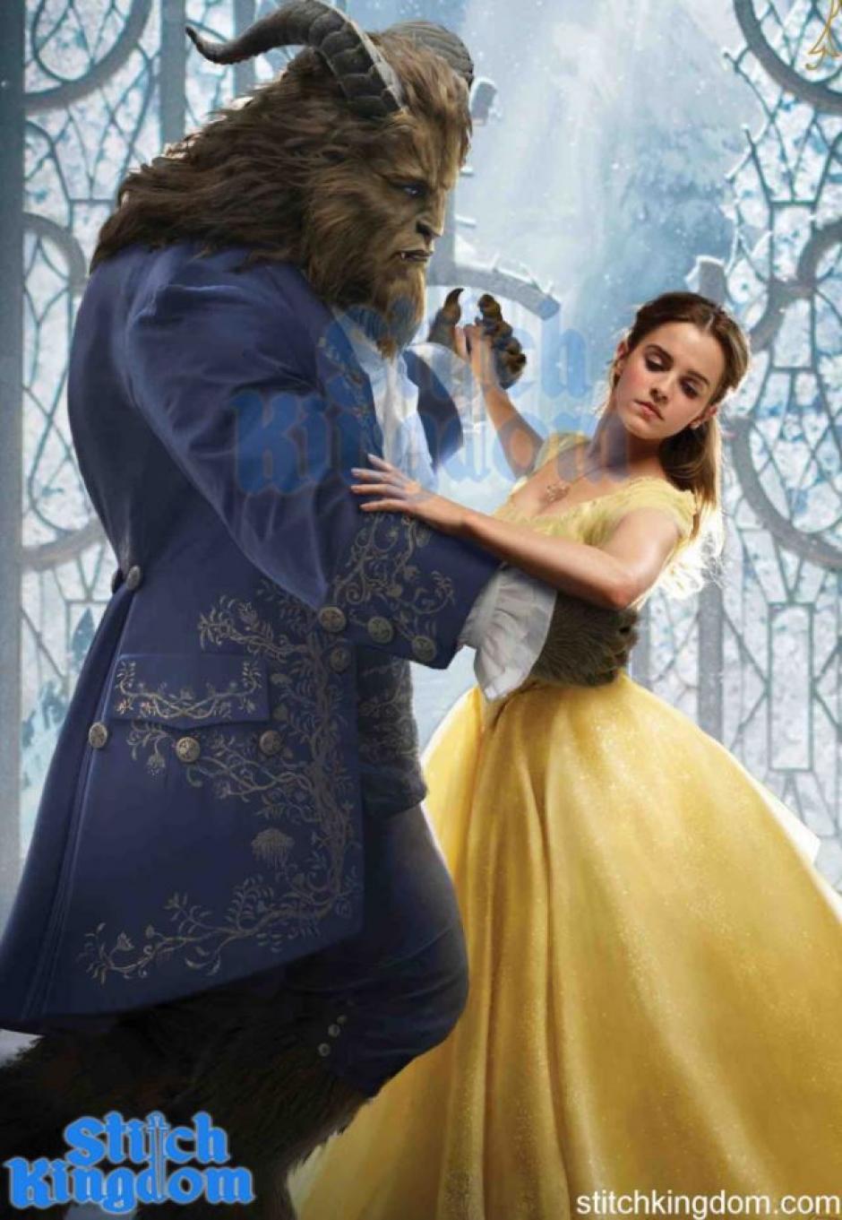 """La nueva versión de """"La Bella y la Bestia"""" se estranará en 2017. (Foto: Stitch Kingdom)"""