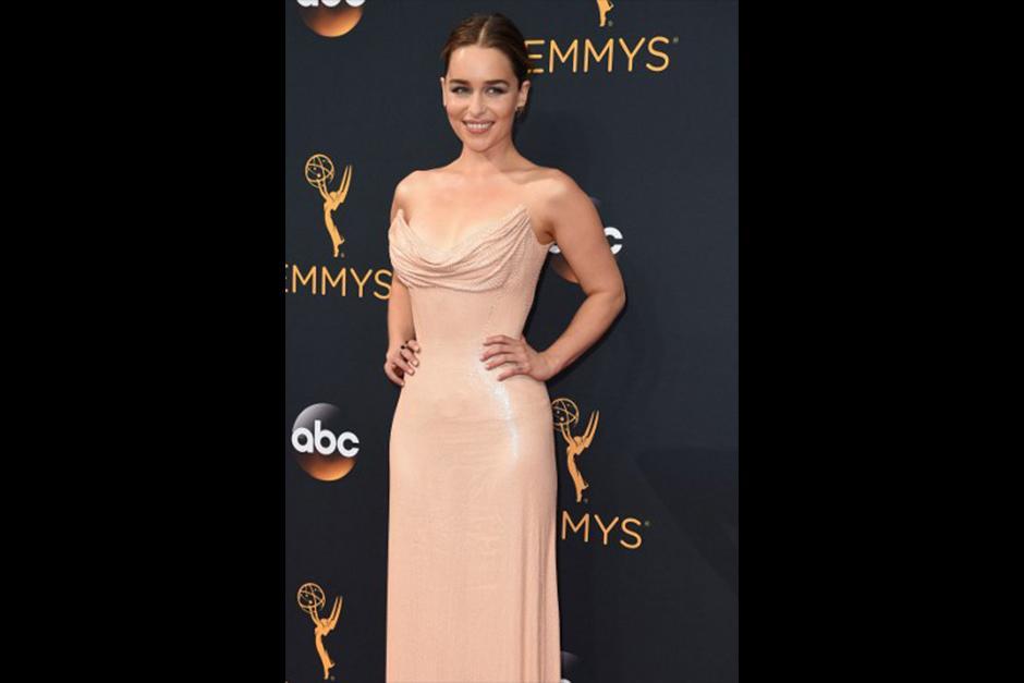 Emilia Clarke, nominada a mejor actriz de reparto por Juego de Tronos. (Foto: AFP)