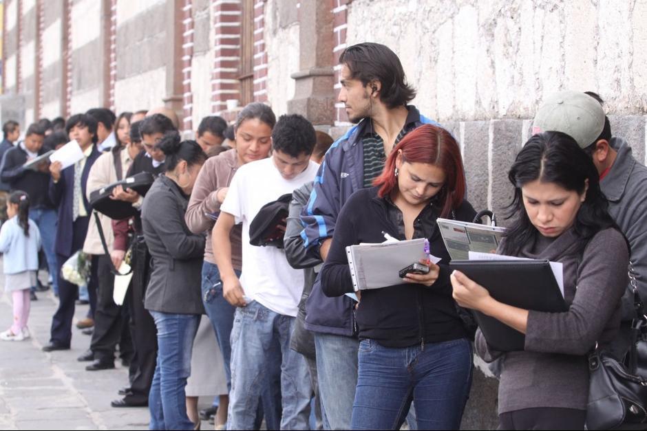 La tasa de desempleo entre jóvenes es mucho más alta. (Foto: Archivo/Soy502)