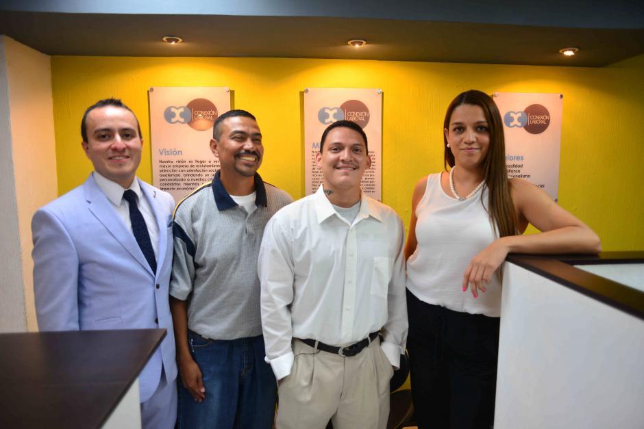 """""""Te conecta"""" es un proyecto de la empresa Conexión Laboral que busca dar una oportunidad de empleo a los deportados. (Foto: Jesús Alfonso/Soy502)"""