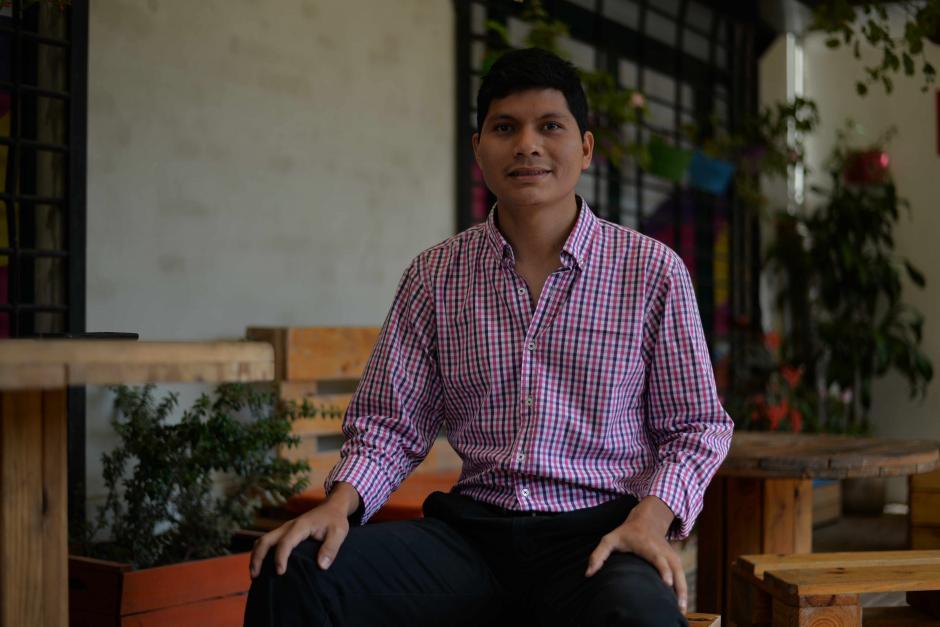 Estudiar en la universidad transformó la vida de Josías López. (Foto: Wilder López/Soy502)