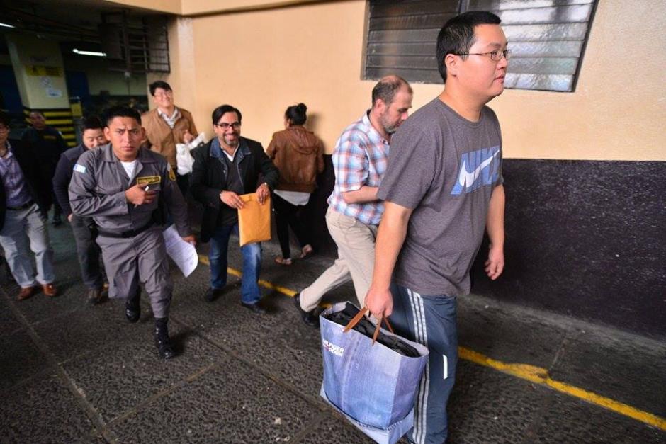 Los empresarios fueron ligados a proceso pero recuperaron su libertad tras pagar medidas sustitutivas. (Foto: Wilder López/Soy502)