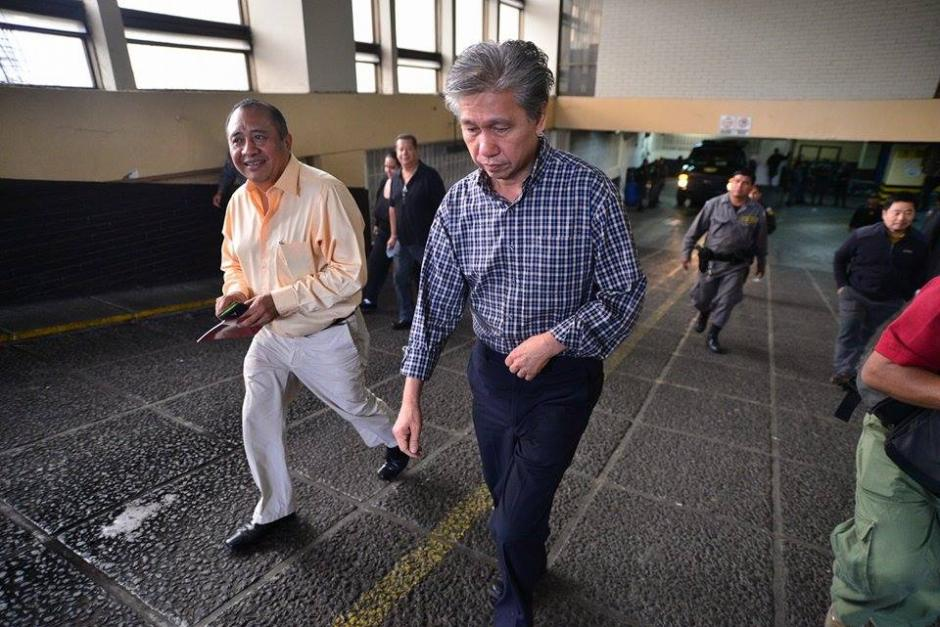 """Los empresarios asiáticos pagaron la fianza para recobrar su libertad en el caso """"La Línea"""". (Foto: Wilder López/Soy502)"""