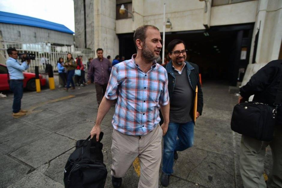"""Otros de los comerciantes que negociaron con """"La Línea"""" fueron puestos en libertad por medidas sustitutivas. (Foto: Wilder López/Soy502)"""