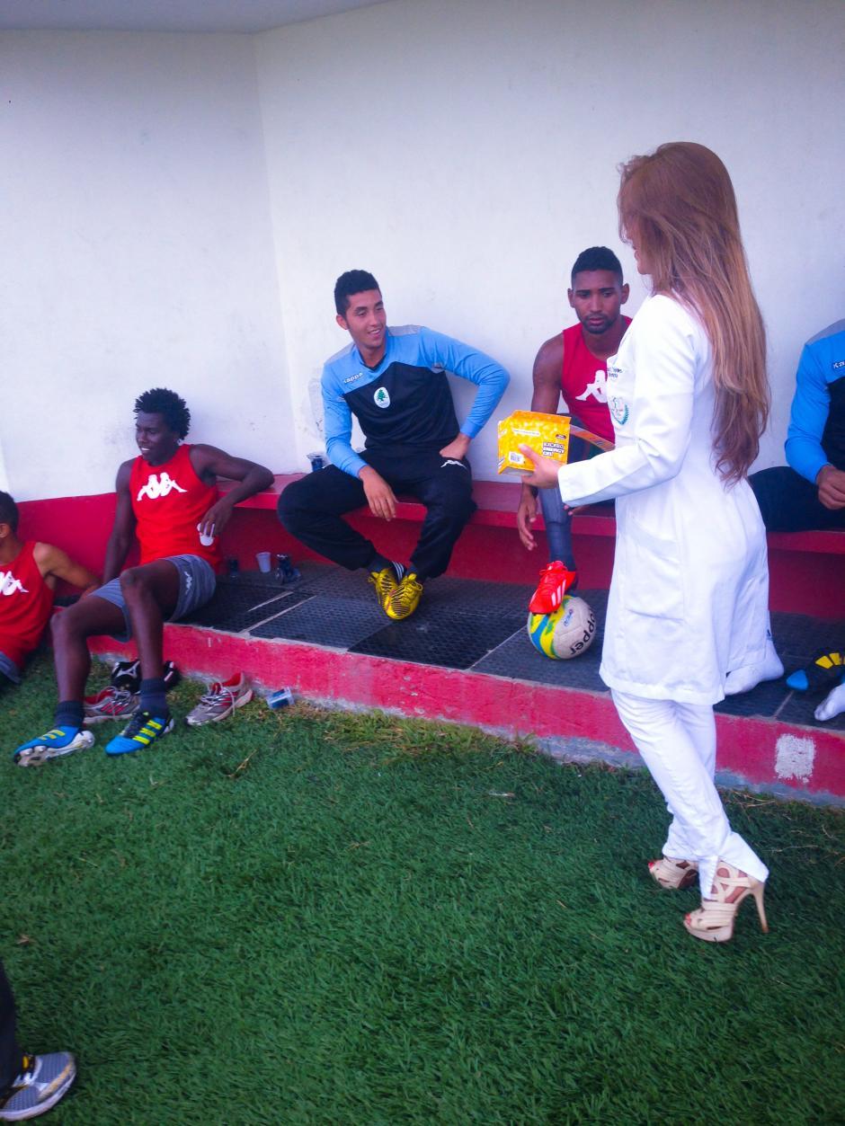 Los jugadores del Boavista tiene motivos para estar felices. (Foto: Boavista)
