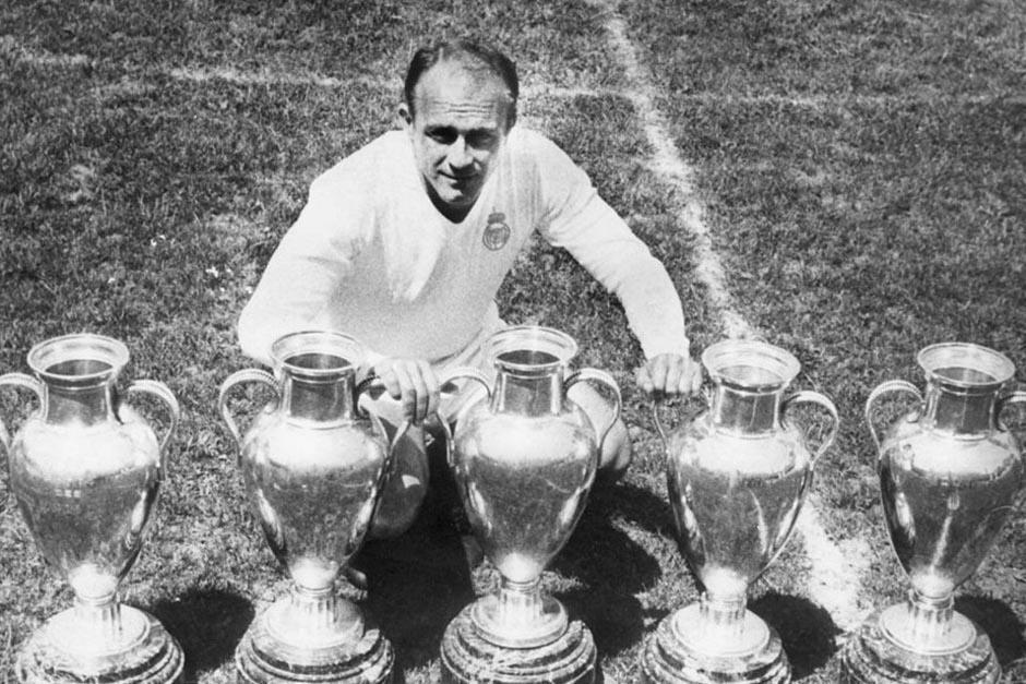 Alfredo Di Stéfano es una de las más grandes leyendas del equipo merengue