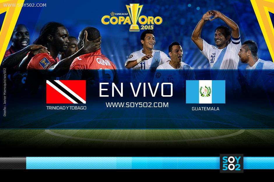 Guatemala enfrentará a Trinidad & Tobado en su debut de la Copa Oro 2015