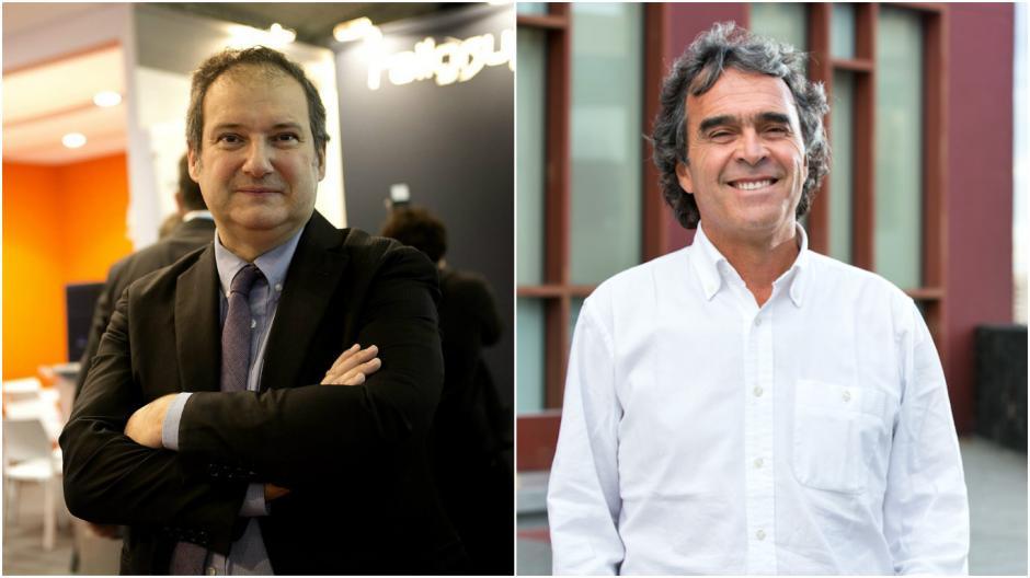 Jordi Hereu (izquierda) y Sergio Fajardo son los expertos invitados a ENADE ciudades emergentes. (Foto: Soy502)
