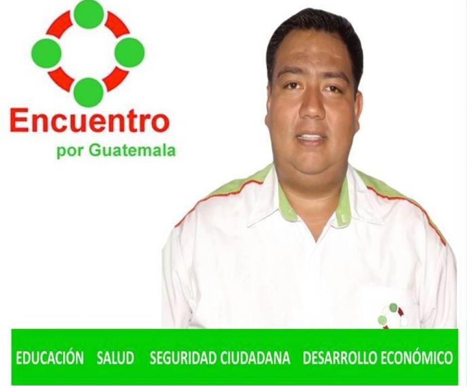 Marco Vinicio Álvarez será otro de los candidatos que darán batalla para conseguir la vara edilicia de Villa Nueva. Encuentro por Guatemala lo respalda. (Foto: Marco Vinicio Álvarez)