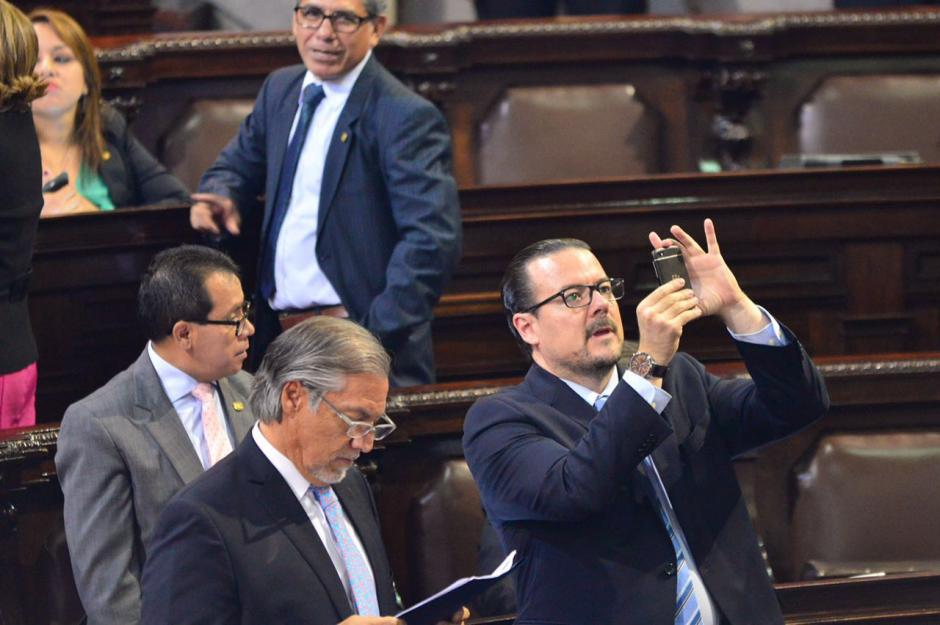 Encuentro por Guatemala fue el único bloque que votó en contra de la enmienda. (Foto: Jesús Alfonso/Soy502)