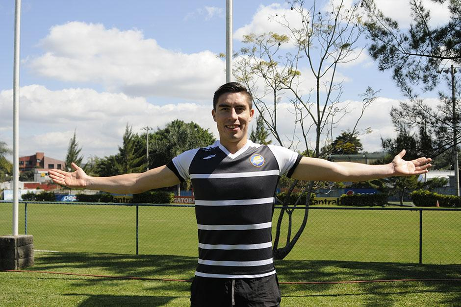 El defensor Elías Enoc Vásquez, de 23 años, es recordado por haber sido el capitán de la Selección Nacional, en el único Mundial en el que Guatemala ha dicho presente, en el Sub 20, de Colombia 2011. (Foto: Pedro Pablo Mijangos/Soy502)