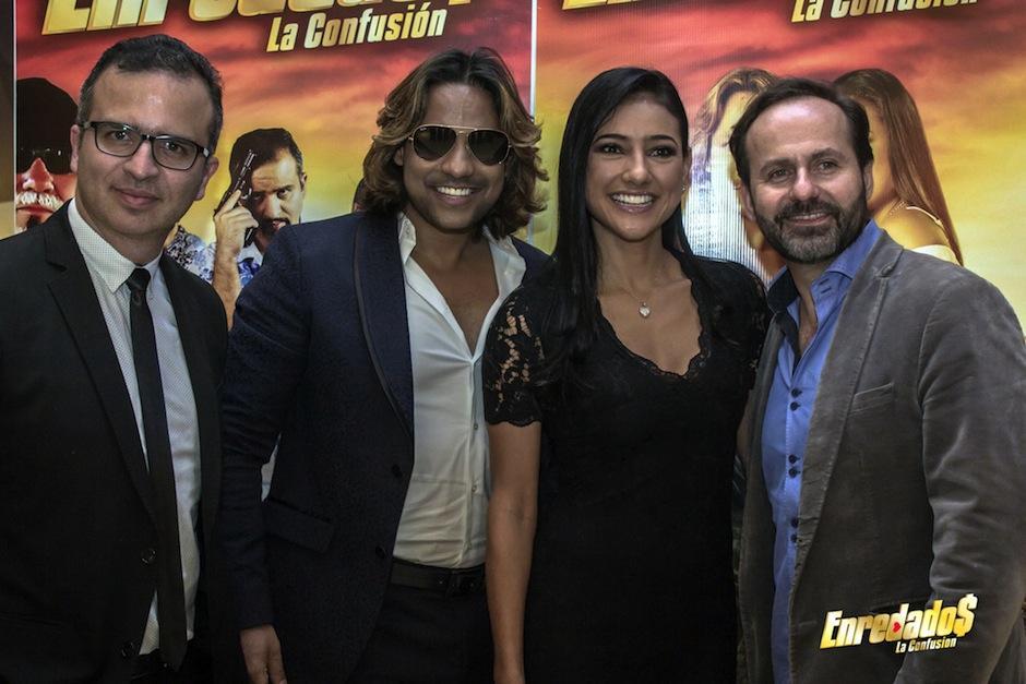 El elenco es costarricense y participan actores de otros países de Latinoamérica. (Foto: Enredados, La Confusión oficial)