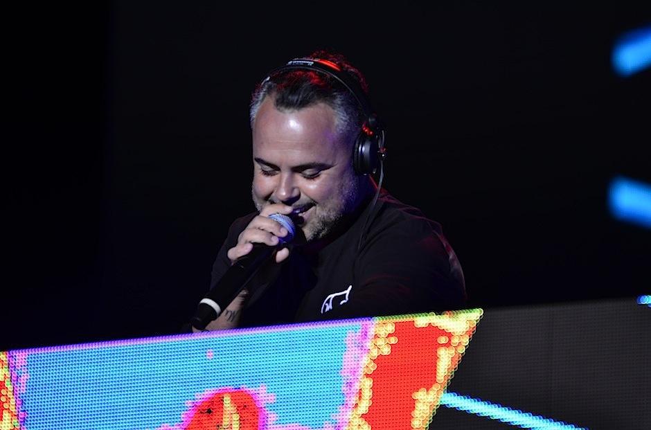 Su sonido electro-latino fue coreado por todos. (Foto: Selene Mejía/Soy502)