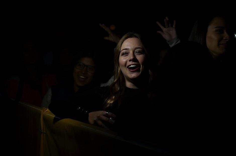El público se emocionó con sus canciones. (Foto: Selene Mejía/Soy502)