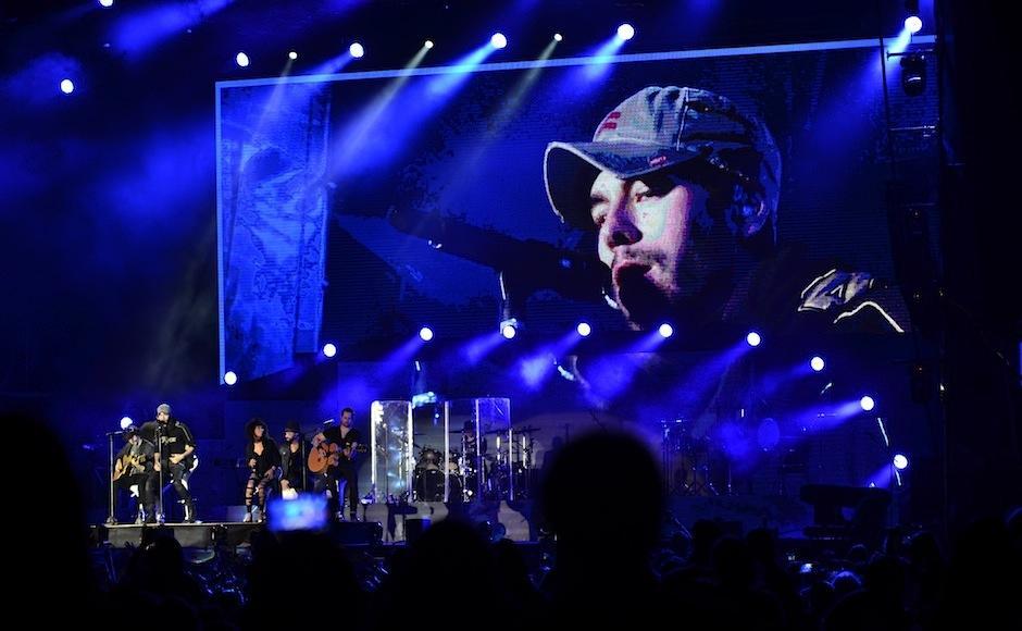 Las baladas también estuvieron presentes. (Foto: Selene Mejía/Soy502)