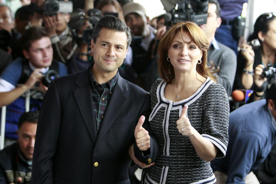 Enrique Peña Nieto y La Gaviota, ¿camino al divorcio? (Foto: Internet)