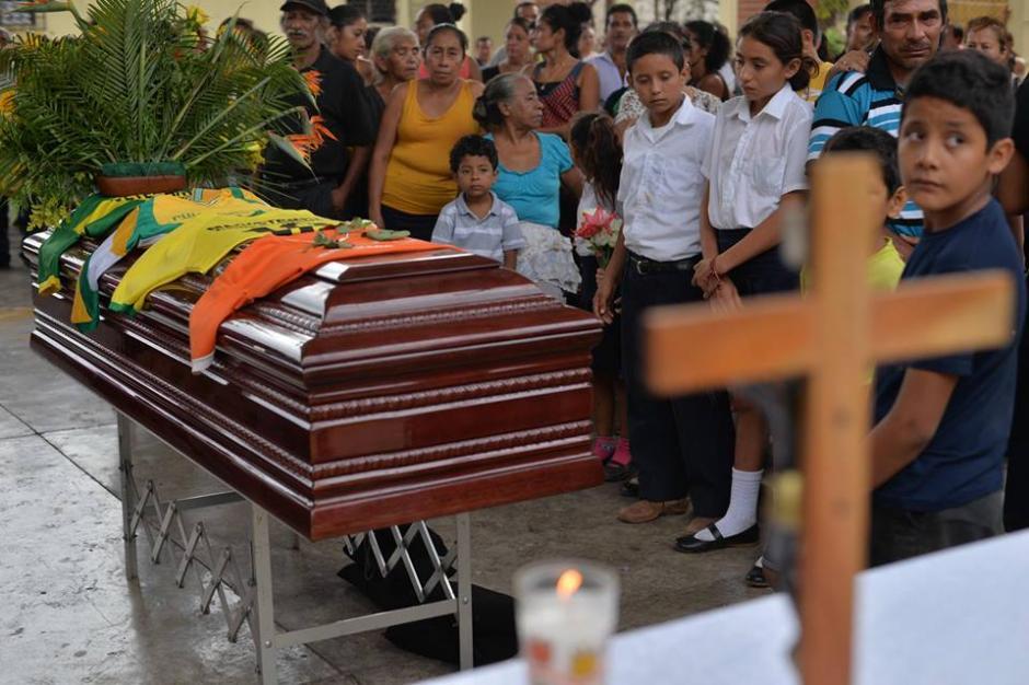 El maestro fue asesinado frente a sus alumnos. (Foto: Wilder López/Soy502)