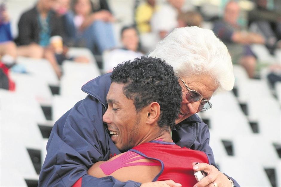 Este es un resultado muy emotivo. (Foto: news24.com)