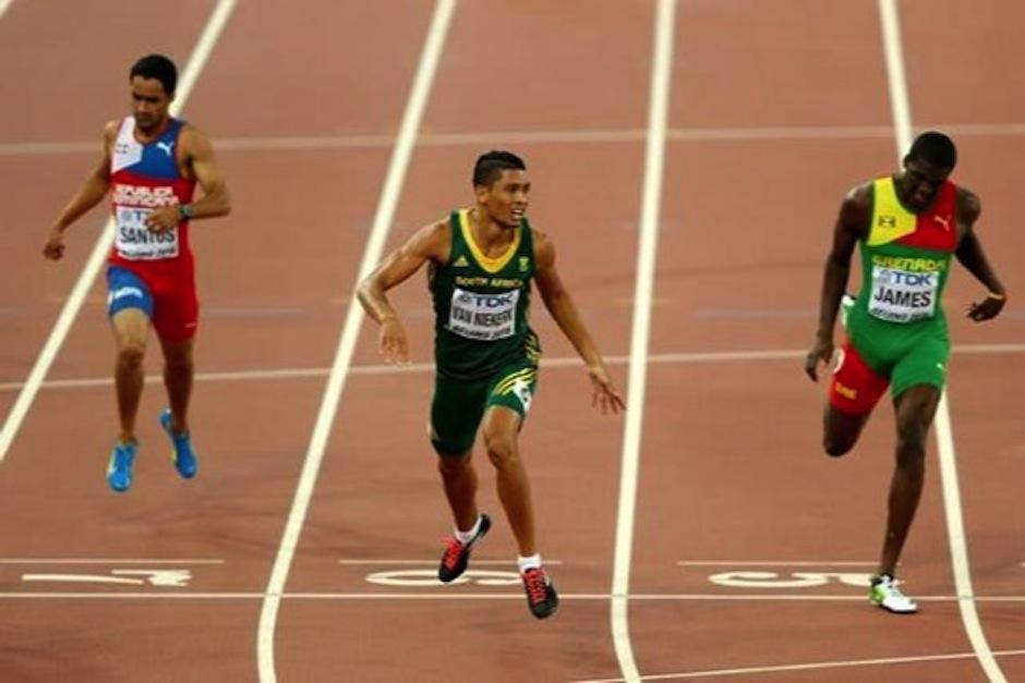 Nada más y nada menos que el surafricano Wayde van Niekerk. (Foto: Marca)