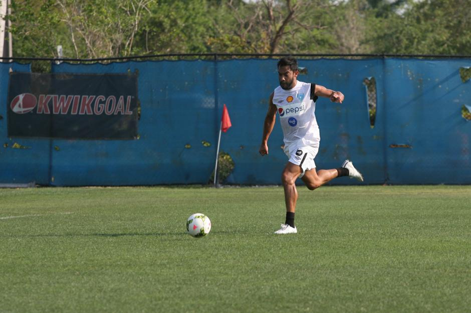 Carlos Ruiz es uno de los llamados a formar parte del equipo titular de la Selección de Guatemala