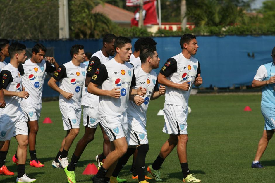 La Selección Nacional de Guatemala se prepara para sus encuentros de eliminatoria mundialista