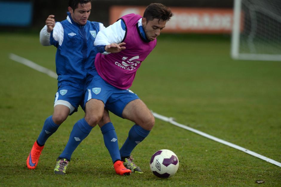 Los mundialistas Sub-20 en 2011; Kendel Herrarte y Henry López ahora defienden los colores de la Selección mayor.(Foto: Diego Galiano/Nuestro Diario)
