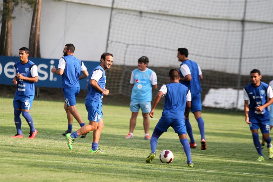 José Contreras reapareció en los entrenos de la Selección y será opción para jugar ante Estados Unidos. (Foto: Luis Barrios/Soy502)