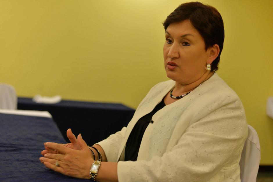 La fiscal Thelma Aldana lamentó la poca voluntad política que existe para fortalecer el MP. (Foto: Alejandro Balán/Soy502)