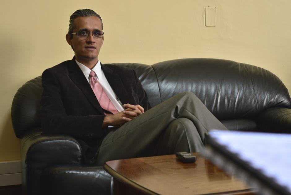 Axel Romero, el nuevo Viceministro de Prevención del Delito asumió el pasado martes 10. (Foto: Alejandro Ortíz/Soy502)