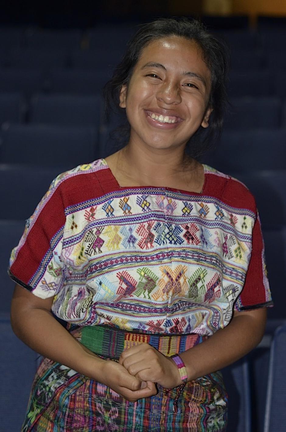 Sara ha puesto su corazón en los ensayos. (Foto: Selene Mejía/Soy502)