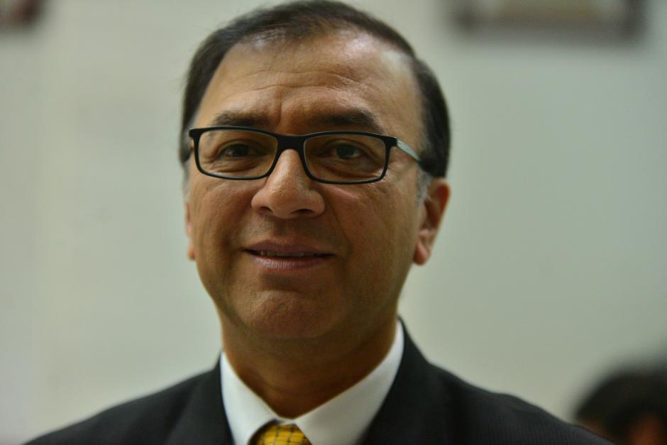 Erwin Iván Romero Morales fue presidente de la sala cuarta de lo contencioso administrativo. (Foto Wilder López/Soy502)