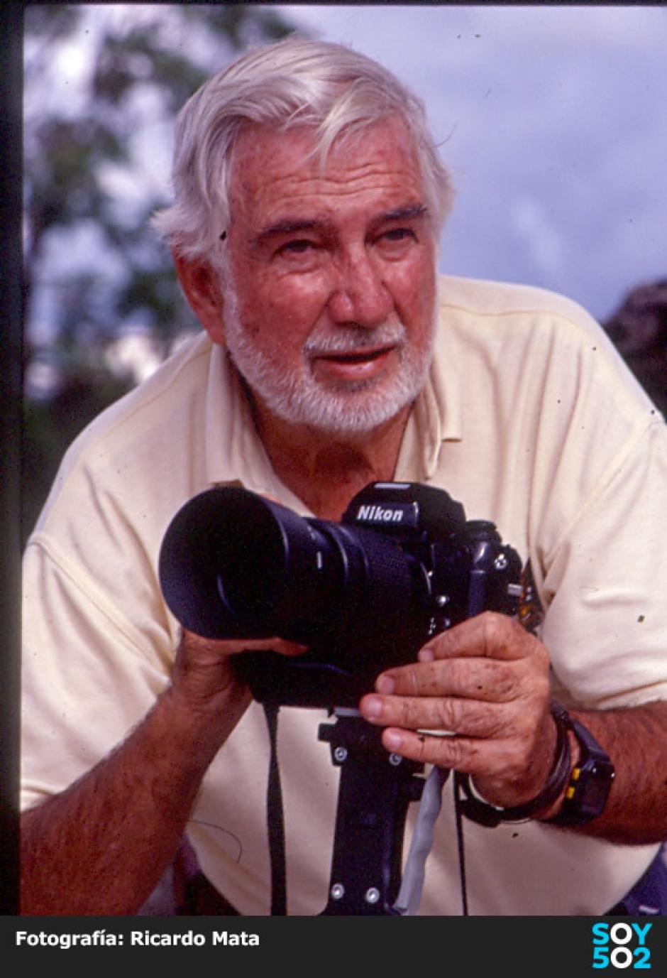 Fue el fundador del Club Fotográfico en Guatemala. (Foto: Ricardo Mata)